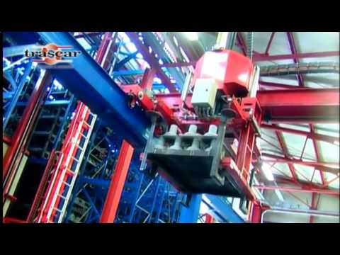 Автоматические краны-штабелеры использование в металлургии