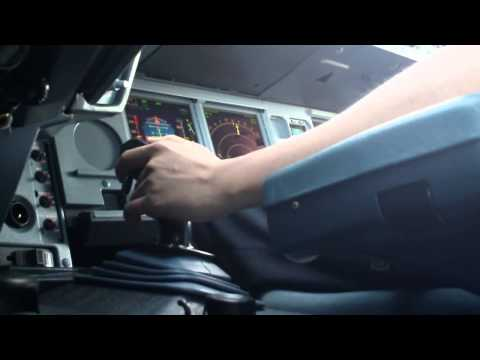 Airbus Cockpit Action - Takeoff (Sidestick View)