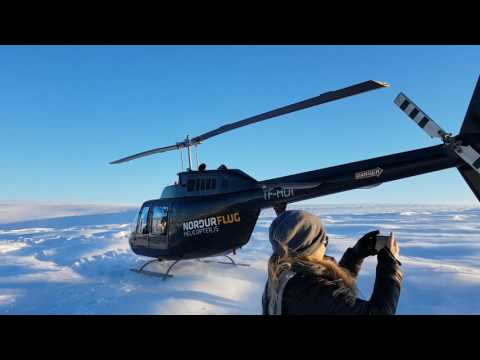 Reykjavik Helicopter Summit flight - Iceland
