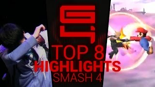 Genesis 4 - Super Smash Bros. for Wii U Top 8 Highlights - By Jampanos