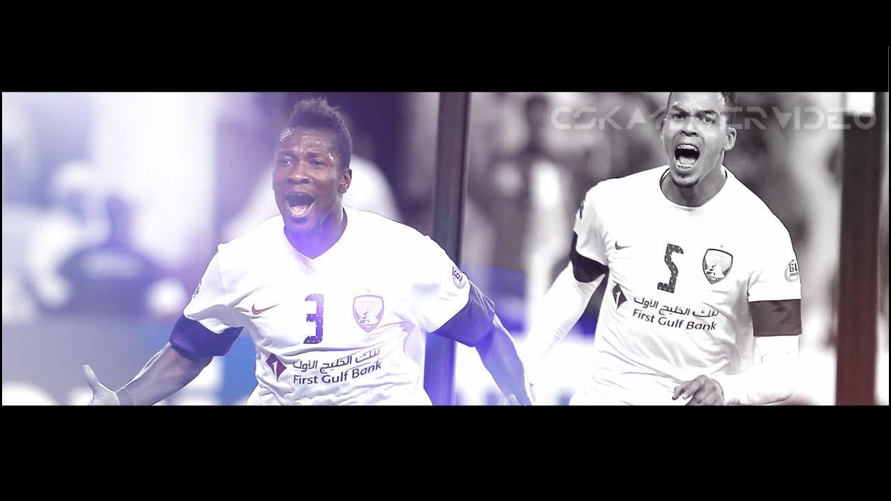 Asamoah Gyan  أسامواه جيان - Goal Show - Fast Skills Dribbling & Goals /HD/