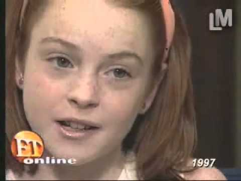 11-year-old Lindsay Lohan -  The Parent Trap Interview