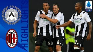 Udinese 1-0 Milan | Becão scores debut goal as Udinese beat Milan! | Serie A
