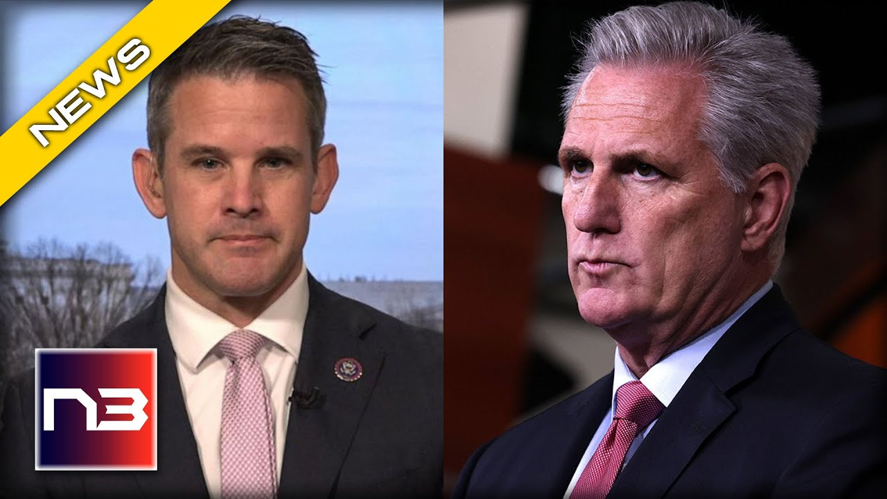 Adam Kinzinger Leaks New Details about Jan. 6th Commission We All Saw Coming