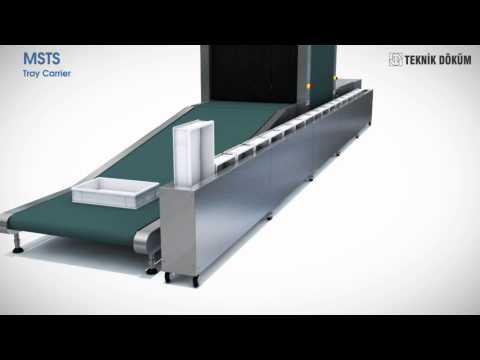 Teknik Döküm - MSTS Otomatik sepet sistemi.