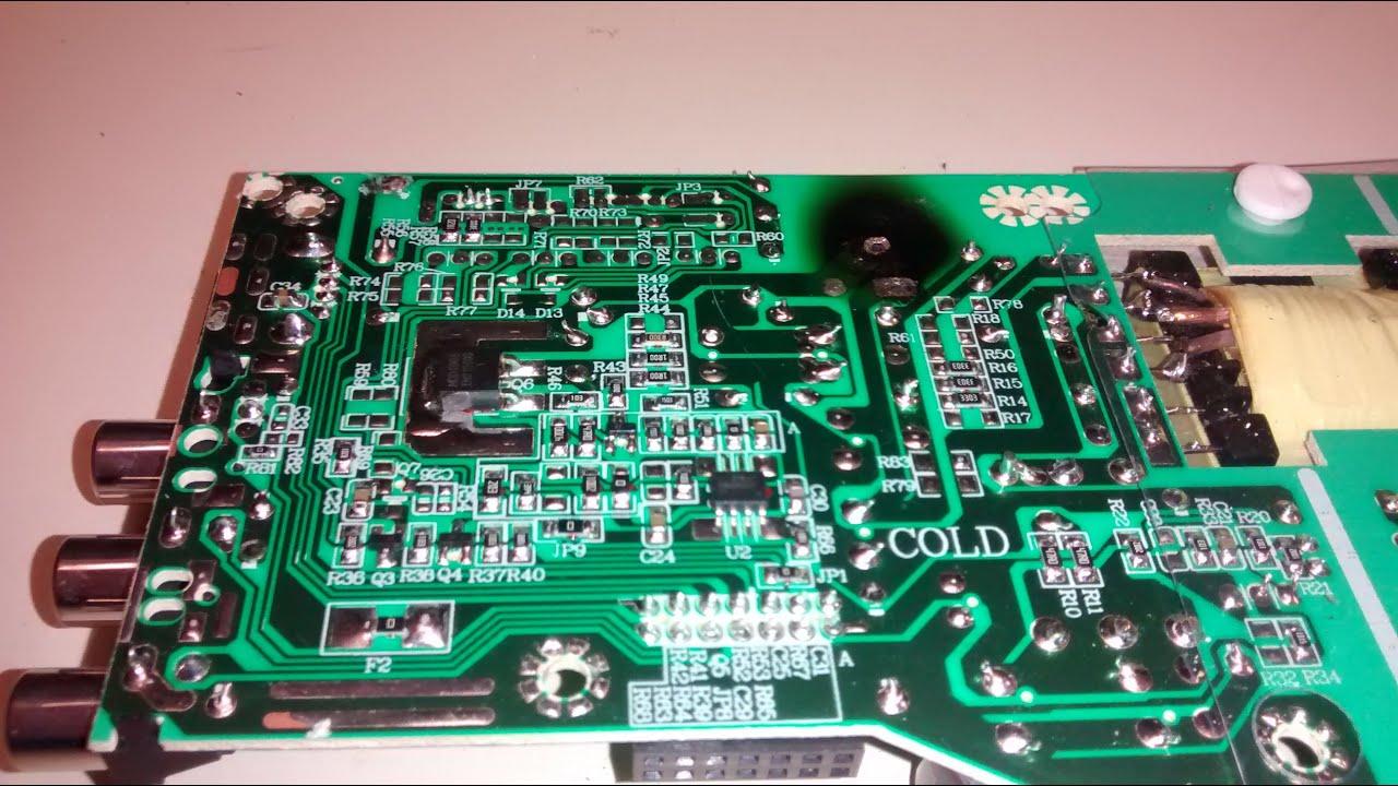 Main Disconnect Wiring Diagram Tv Repair R 233 Paration Proscan Rca Pldv321300 Rlded3258a