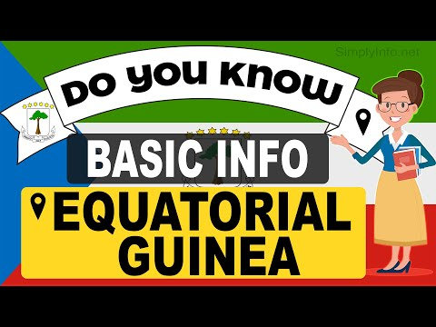 Do You Know Equatorial guinea Basic Information | World Countries Information #56 - GK & Quizzes