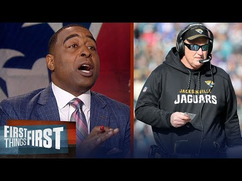 Cris Carter on how Jacksonville can upset New England this weekend | FIRST THINGS FIRST