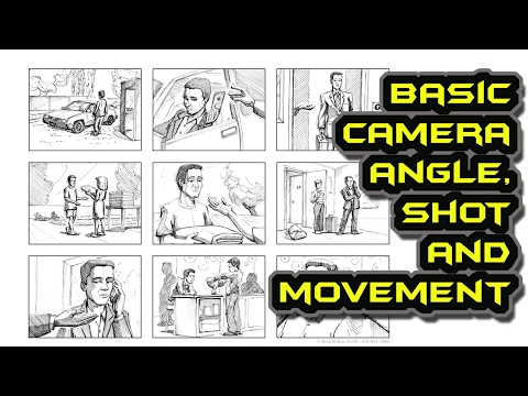 Basic Camera Angles, Shots and Movements Explained in Tamil with English Subtitle - Cinematography