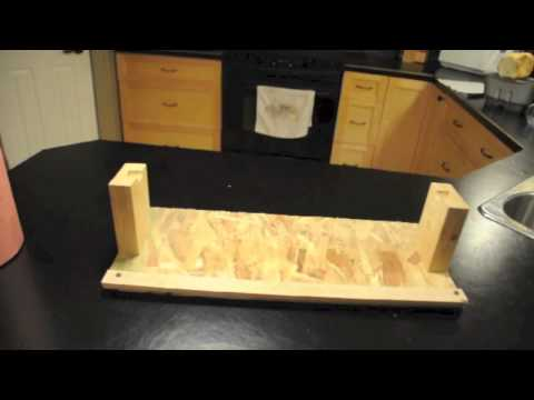 Homemade Meat Wrapping Paper Cutter Youtube
