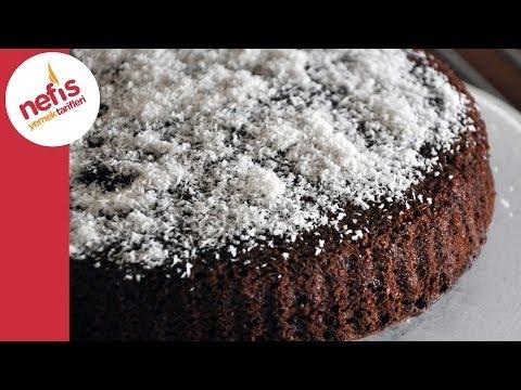 hindistan cevizli islak kek sesli anlatımı ile  nefis yemek tarifleri