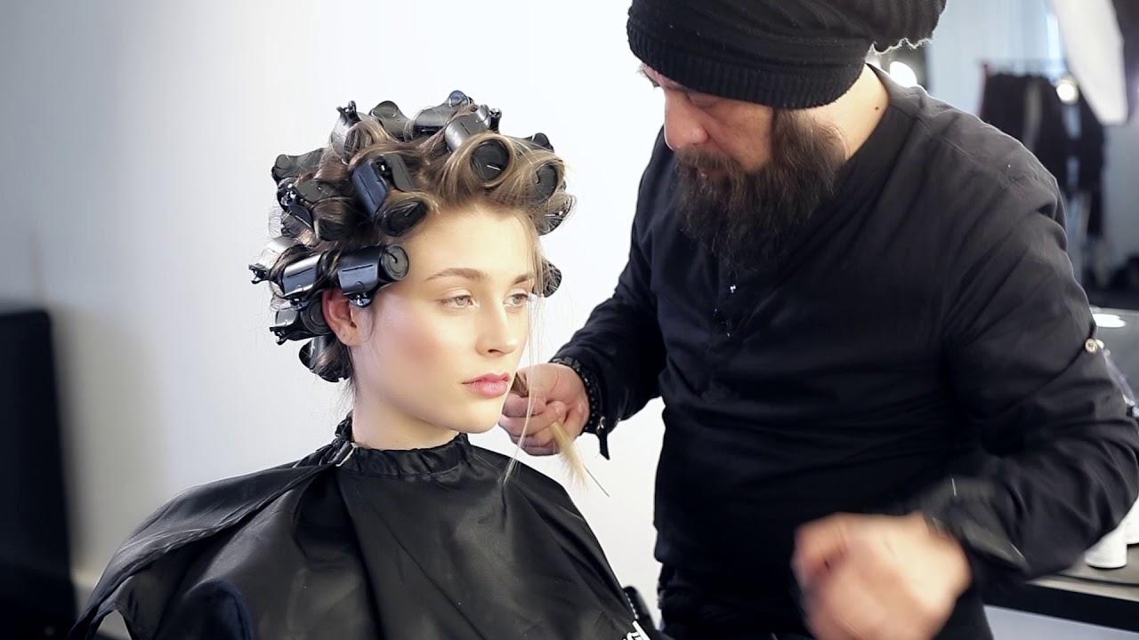 Styling Anleitung Volumen Styling Mittellange Haare Mit Heiz Lockenwickler