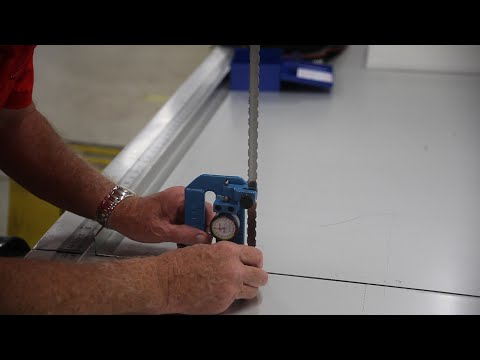How To Tension A Band Saw Blade