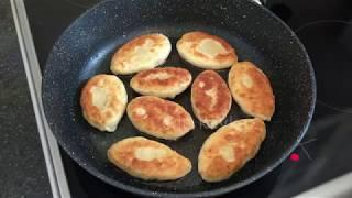 Жареные пирожки с картошкой | Быстро, просто и вкусно