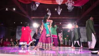 Bollywood Indian Hindi Film Dance Performance at Erar