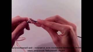 Вязание лицевых петель. Вязание спицами. Видеоурок 2.