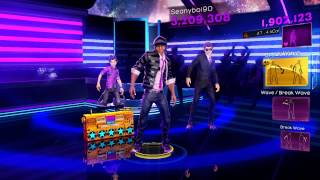 Dance Central 3 - Around the World (Hard) - Daft Punk - Gold Stars