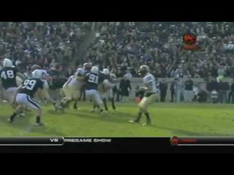 Huge Hit by Travis Henry, Yale Harvard 2009 (Best Quality)