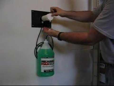Mechanics Foaming Hand Soap Youtube