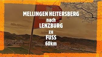 Von MELLINGEN-HEITERSBERG nach LENZBURG zu FUSS