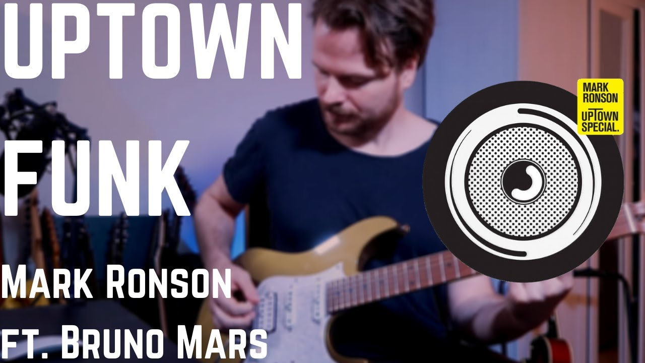 Mark Ronson - Uptown Funk ft. Bruno Mars (Guitar Cover)