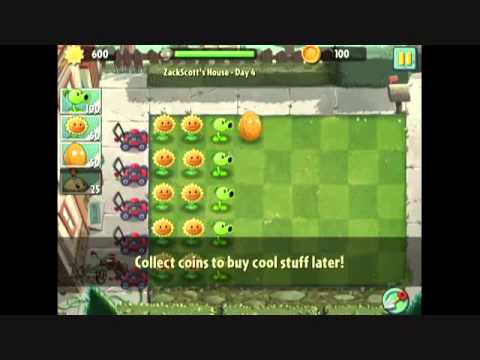 Xem trailer, video game, nơi tải game Plants vs  Zombies 2 mobile miễn phí cho điện thoại
