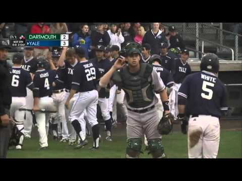 Highlights: Yale Beats Dartmouth in Rolfe Division Playoff May 7, 2016