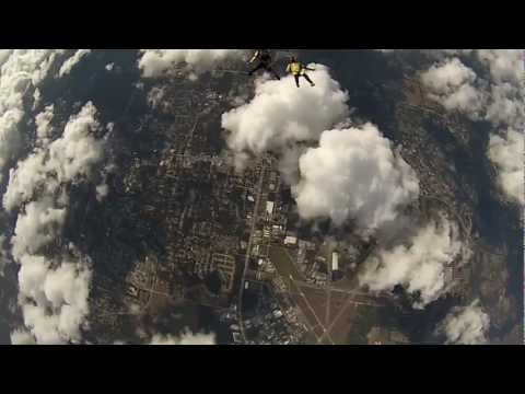 Skydiver From Brazil Jumps Into POWERED PARAGLIDING!