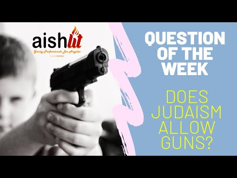 Question Of The Week EP1 | Does Judaism Allow Guns
