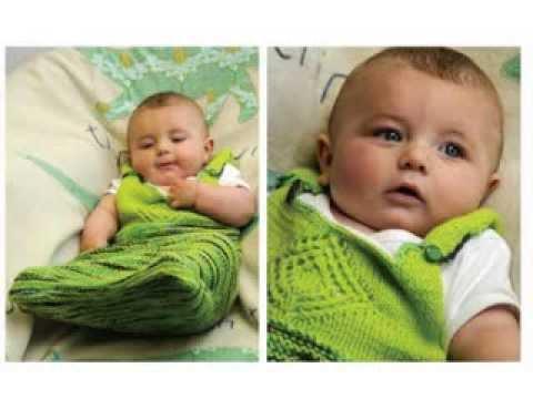 Crochet Baby Sleep Sack - YouTube
