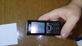 Скачать Samsung GT C 3010 сброс пароля телефона без прошивки