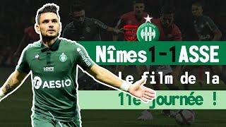 Nîmes 1-1 ASSE: le film du match
