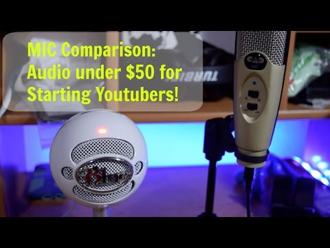 Audio on a Budget! Sound comparison: CAD U37 vs Blue Snowball iCE