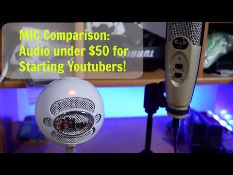 Audio on a Budget! Sound comparison: CAD U37 vs Blue Snowball iCE