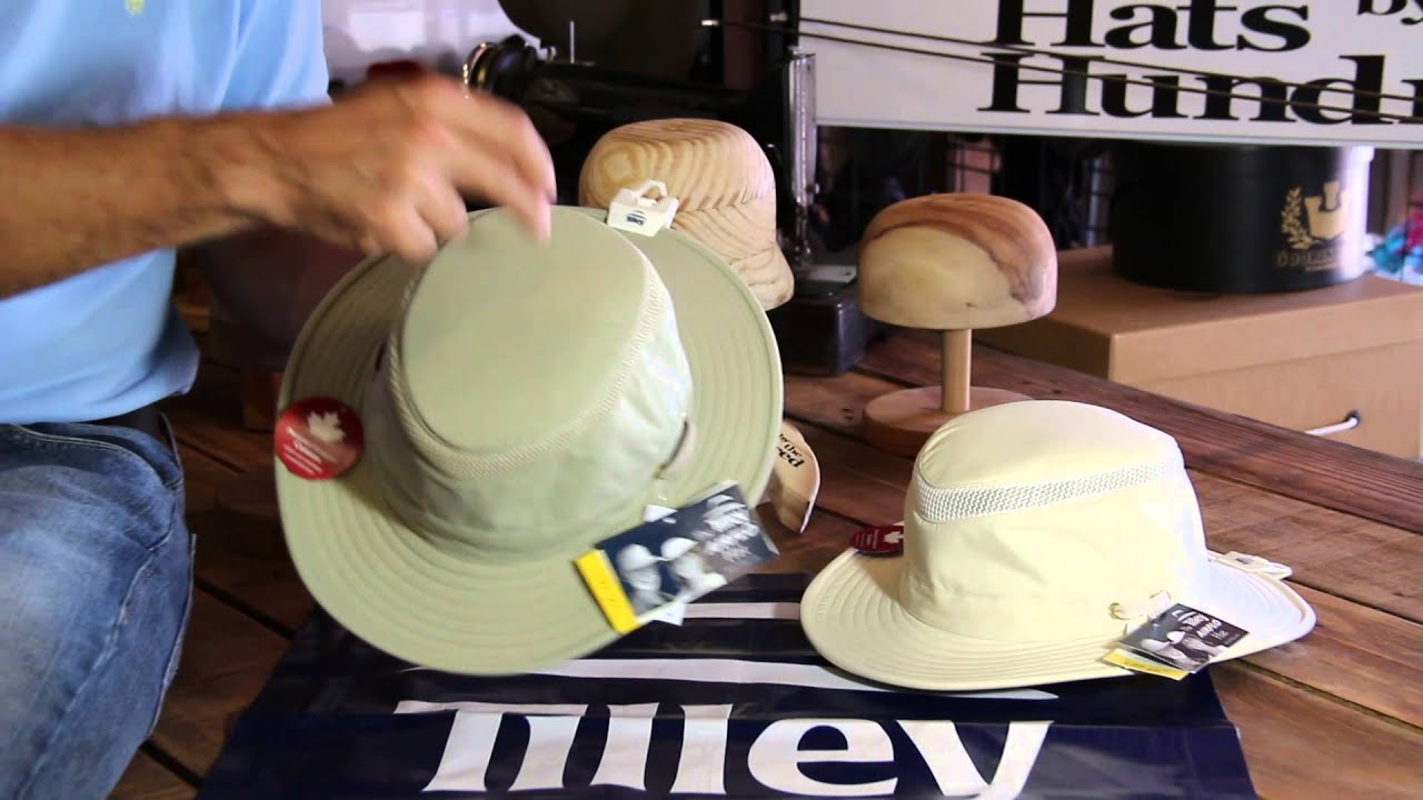 580473d3288 Tilley Hats LTM5 Hat Review- Hats By The Hundred - YouTube