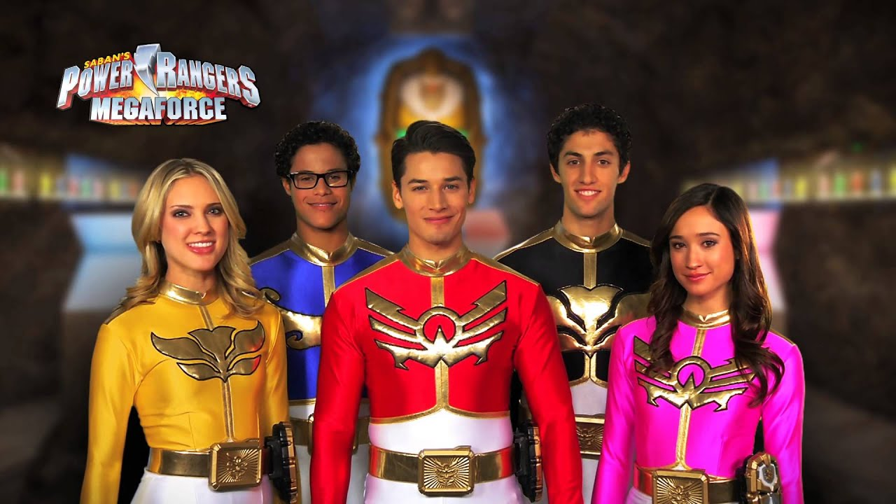 Power Rangers Megaforce Power Up San Diego Comic-Con - YouTube
