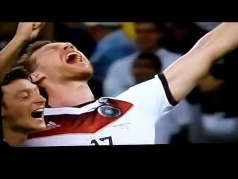 world cup 2014 final GERMANY VS ARGENTINA 1-0 13th july