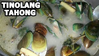 TINOLANG TAHONG RECIPE | Pinoy seafood | MUSSELS SOUP | step by step