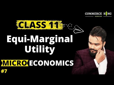 #7, Equi-marginal utility/ Gossen's Second law(class 12 microeconomics)