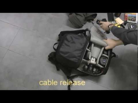 Lowepro Fastpack 350, Unpacking