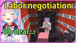 Minato Aqua is in danger of ex…
