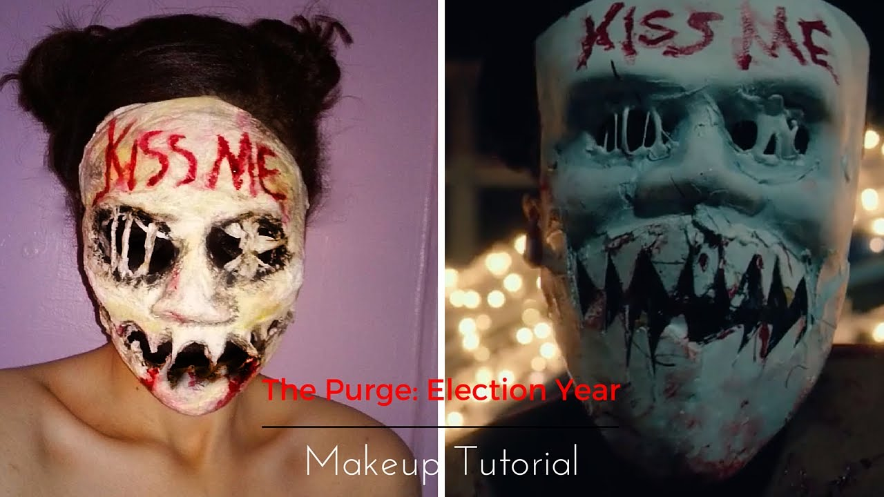 PURGE MASK HALLOWEEN COSTUME ELECTION YEAR