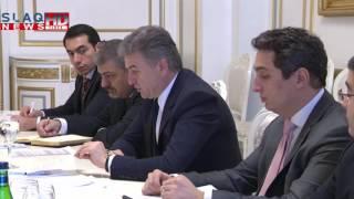Slaq am Քննարկվել են Հայաստանի և ԱԶԲ ի  միջև համագործակցության զարգացմանն առնչվող հարցեր