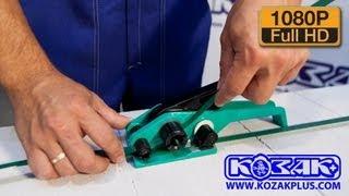видео Купить стреппинг инструмент ручной для обвязки лентой