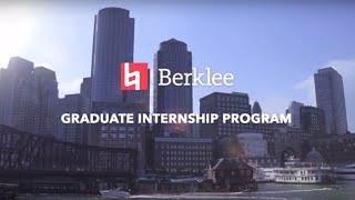 Graduate Internship Program - Berklee Valencia Campus