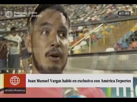 Juan Vargas  su emotiva respuesta sobre el regreso a Universitario de Deportes