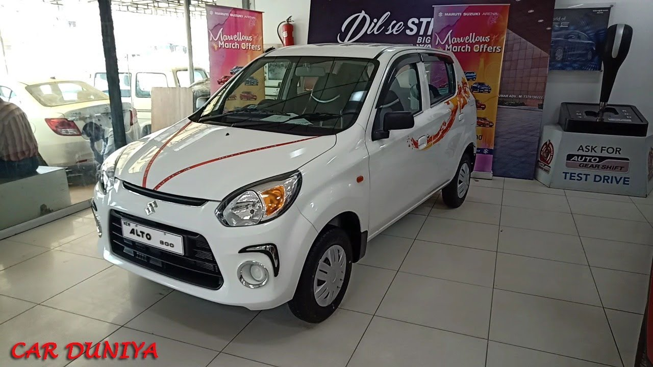 Alto 800 Lxi Accessories Fitted With Cost Features Review Youtube
