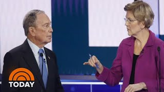 Democratic Candidates Pile On Michael Bloomberg In His Debate Debut | TODAY