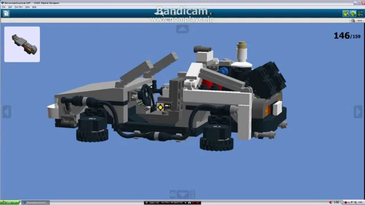 How To Build A Lego Delorean Back To The Future Youtube