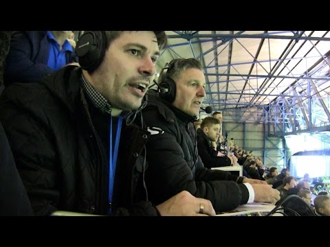 Commentary cam! Watch Rob and John as the goals went in!